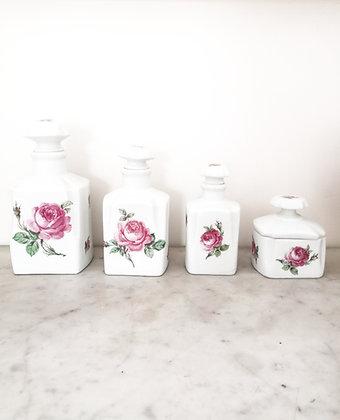 Flacons en porcelaine