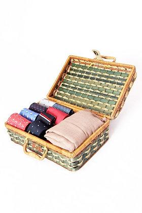 Petite valise verte