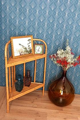 Meuble d'angle bambou