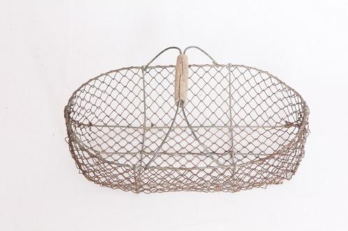 panier en fer forg armand colette brocante en ligne france. Black Bedroom Furniture Sets. Home Design Ideas