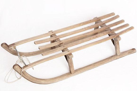 Luge en bois (années 50)