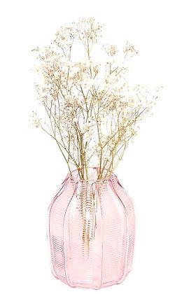Vase rose pâle