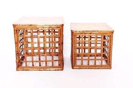 rotin,osier,bambou,meuble,table,vintage,brocante