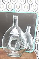 brocante-carafe-bouteille-verre-original