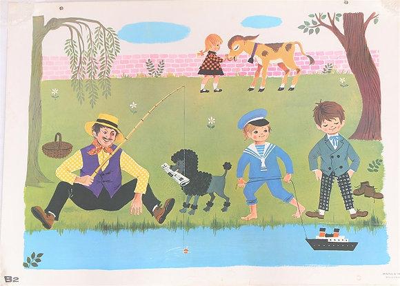 Affiche scolaire