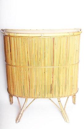 Grand bar en rotin/bambou