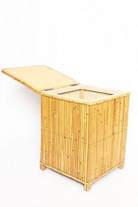 Tabouret / Coffre en bambou