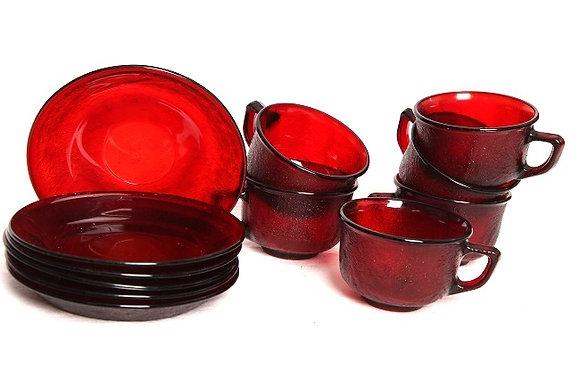 6 tasses à thé/café