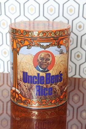 Boite en métal Uncle Ben's