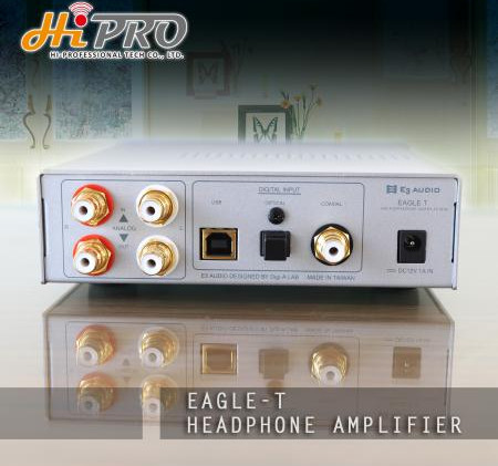 Eagle T Headphone Amplifier-2
