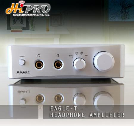 Eagle T Headphone Amplifier-6