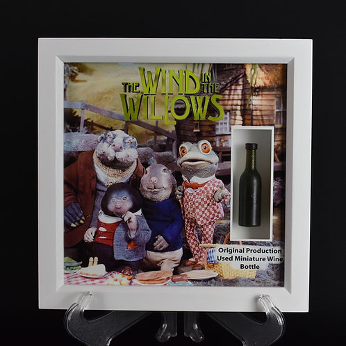 The Wind in the Willows (TV Series,1984-1988) Original Miniature Wine Bottle