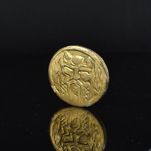The Hobbit; The Desolation of Smaug (2013) Gold Metal Treasure Coin