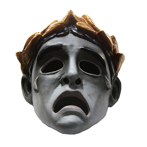 Gladiator (2000) Commodus Pantomime Mask 'Cast from Original Screen used Mask'
