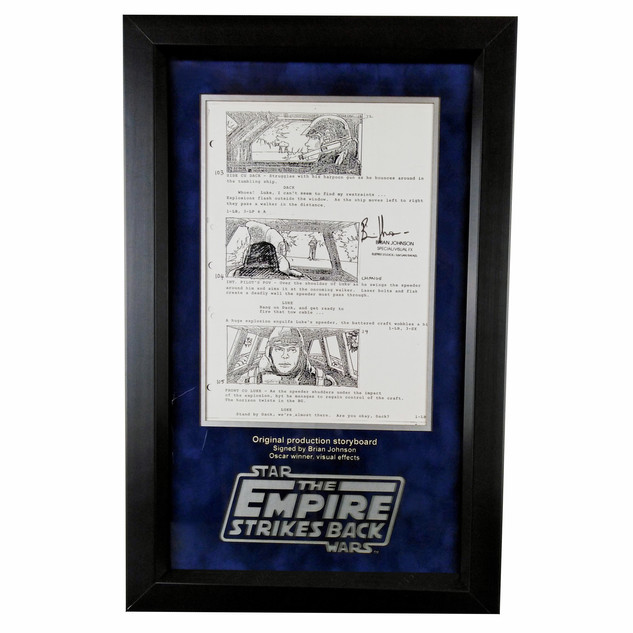 Star Wars Production Storyboard