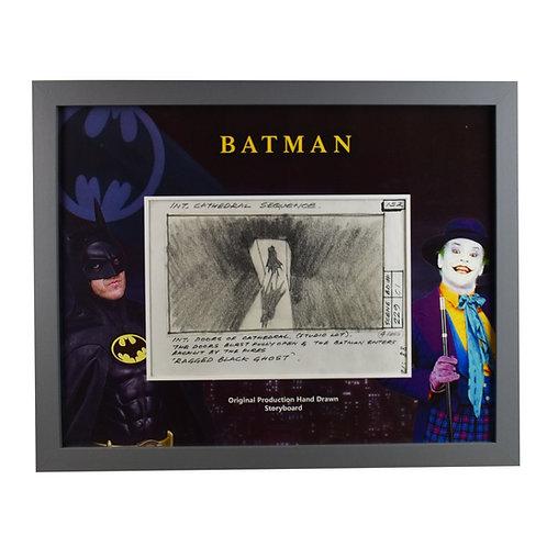 Batman (1989) Original Production Hand Drawn Storyboard