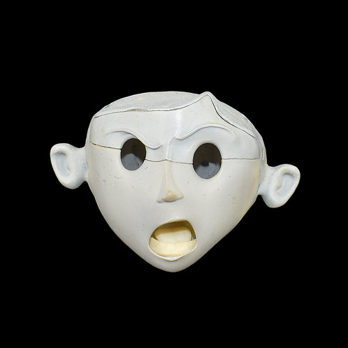 Coraline (2009) Original Production Made Unpainted Coraline Puppet Head