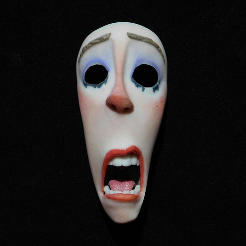 ParaNorman (2012) Screen Used Stop Motion Puppet 'Movie Lady' Face