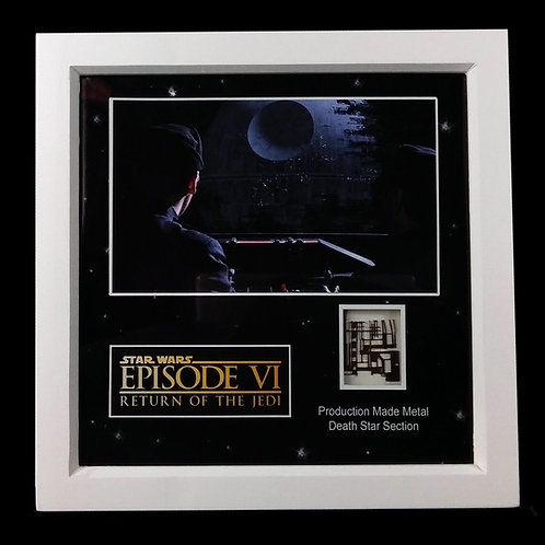 Star Wars: Return of the Jedi (1983) Metal Death Star Section