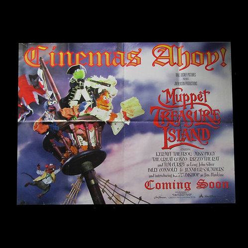 Muppets Treasure Island (1996) Original Cinema Film Poster