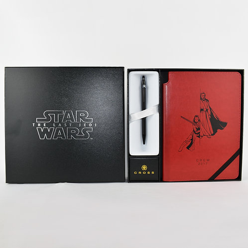 Star Wars: The Last Jedi (2017) Crew Gift - Notebook & Pen