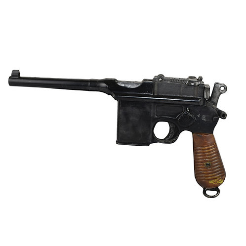 Sherlock Holmes: A Game of Shadows (2011) Production Rubber Stunt Mauser Pistol