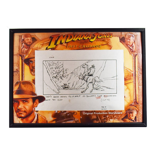 Indiana Jones and the Last Crusade (1989) Original Production Storyboard