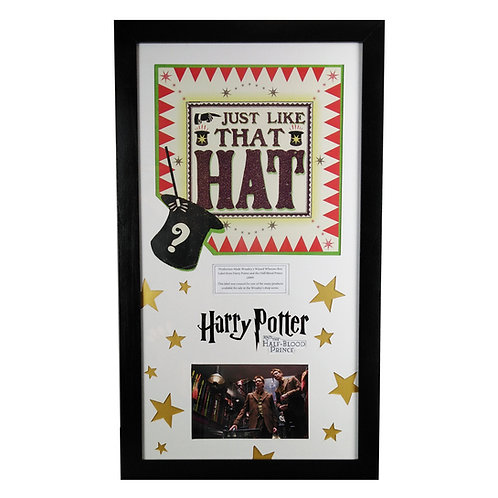 Harry Potter and the Half-Blood Prince (2009) Weasley's Wizard Wheezes Box Label