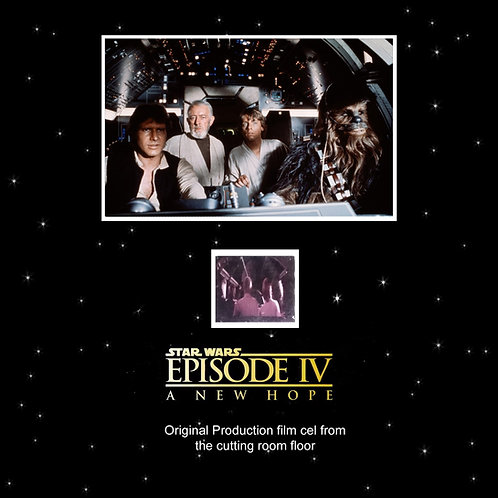 Star Wars: A New Hope (1977) Original Production Used Editing Film Cel