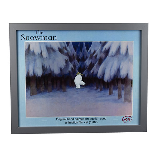 The Snowman (1982) Original Hand Painted Production Used Animation Film Cel