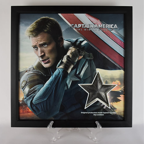 Captain America: The Winter Soldier (2014) Production Made Star Emblem