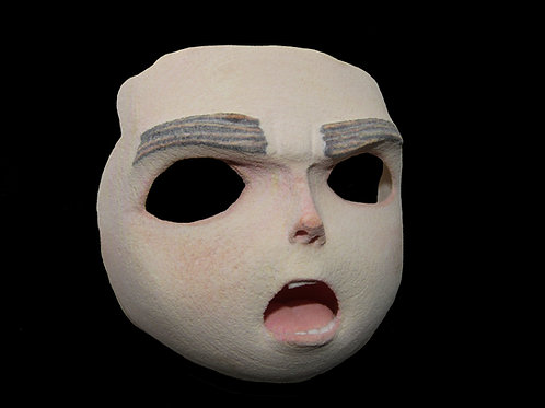 ParaNorman (2012) 'Norman' Production Made Stop Motion Puppet Face