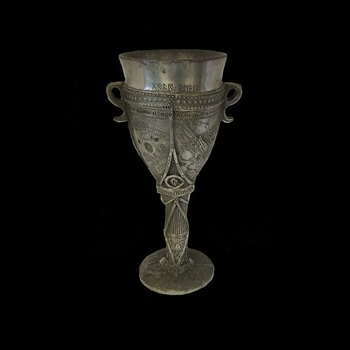 The Lord of the Rings 'Hobbit' Pewter Goblet