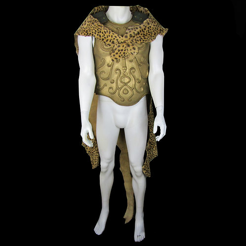 Gladiator (2000) Chariot Driver's Cuirass and Cheetah Cape