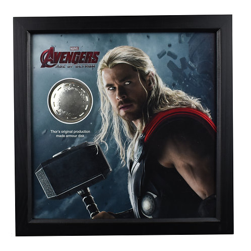 Avengers: Age of Ultron (2015) Thor's Production Made Armour Disk