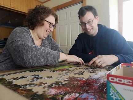 Marc-Antoine et sa mère «accros au RISC»