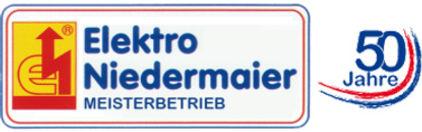 Logo von Elektro Niedermaier Meisterbetrieb