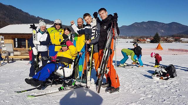 Die Teilnehmer des OAC Skicamps sind voller Vorfreude