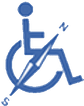 Logo von Behindertenkompass für Alpenregion Tegernsee - Schliersee - Wendelstein