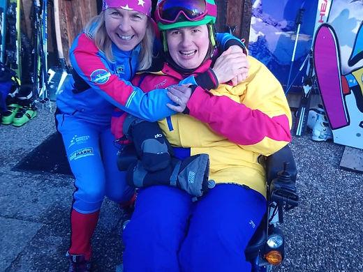 Christine und Andrea Wiedenbauer von der Powderworld in Kreuth