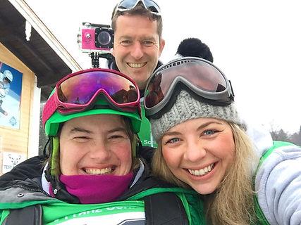 Christine Göttfried und ihre Teamkollegen