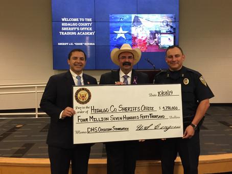 As Border Patrol rebuffs Starr County's 'alternative border wall' proposal, Cuellar obscures record