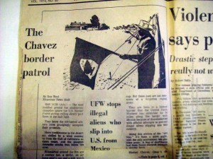 """""""¡NO SE PUEDE!"""": THE LEGACY OF CESAR CHAVEZ'S PRO-MIGRA POLICIES & AMERICAN CHAUVINISM"""