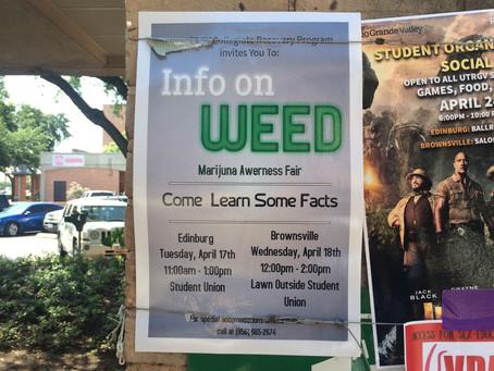 Buzz-Kill: UTRGV Marijuana Fair underwhelming and moralistic