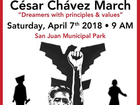 15 annual Cesar Chavez March: What goes into organizing?