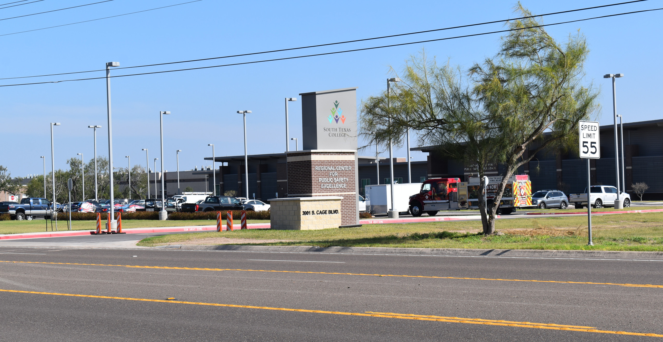 The Regional Center for Public Safety Excellence in South Pharr, Texas.