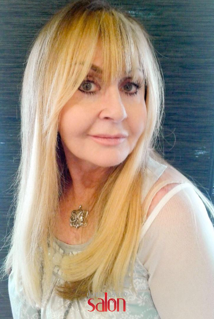 Donna Pascoe Salon Client