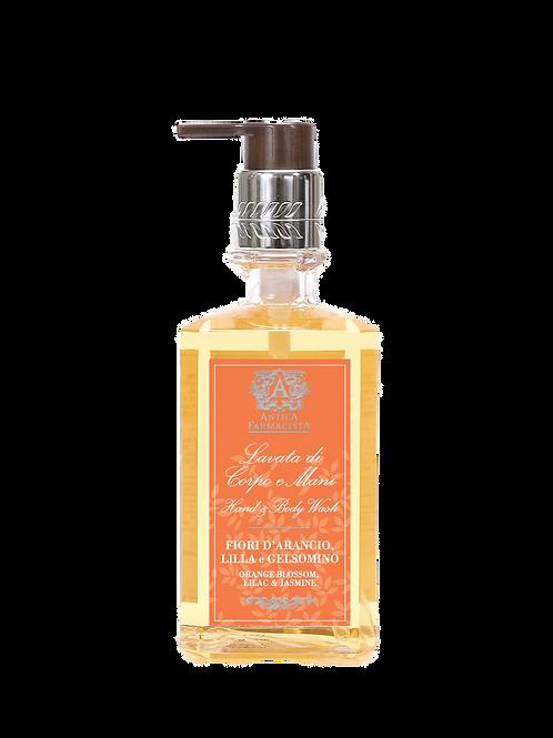 Antica Farmacista Orange Blossom, Lilac & Jasmine 10OZ Hand & Body Wash