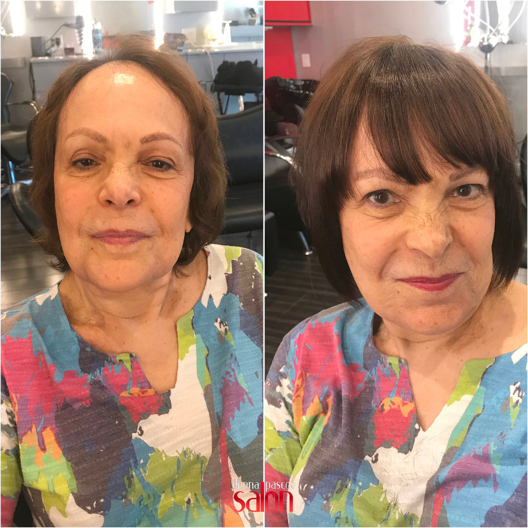 Hair Extensions at DPS in Bangs
