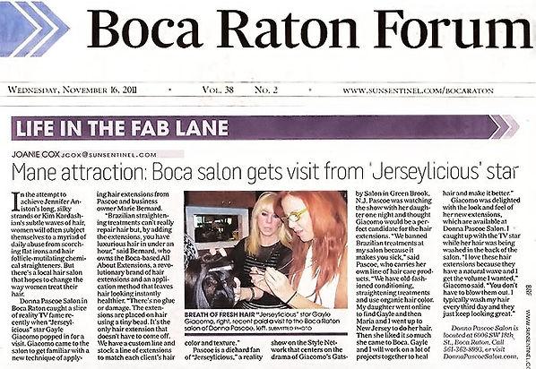 Boca Raton Forum Gayle Giacomo Jerseylicious